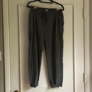 Wilfred Silk joggers